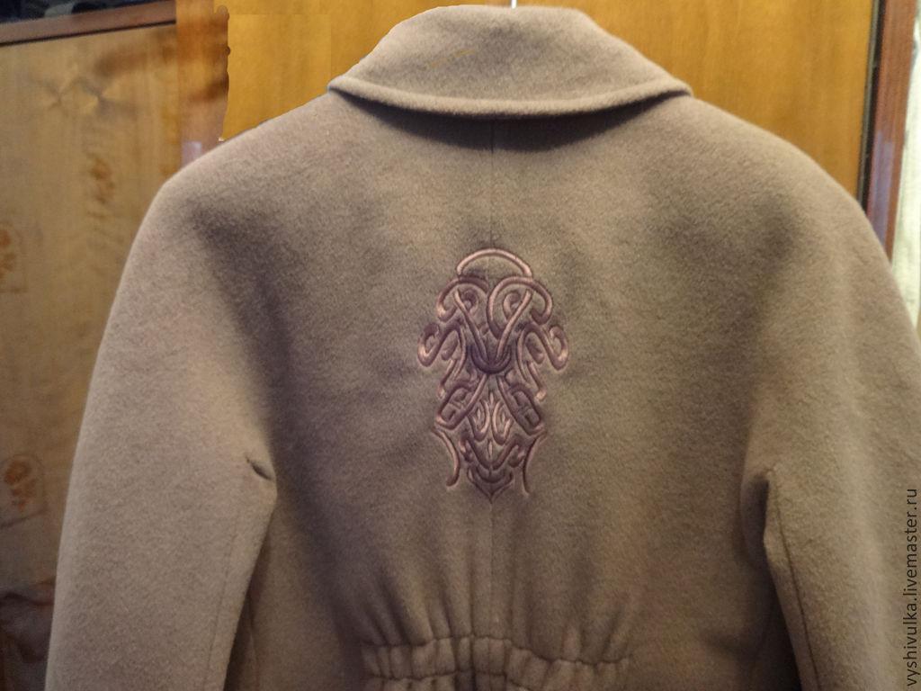 Идеи для вышивки на пальто 1