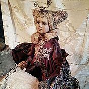 Куклы и игрушки ручной работы. Ярмарка Мастеров - ручная работа Рождественская бабочка. Handmade.