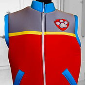 Одежда handmade. Livemaster - original item Vest PAW Patrol (in assortment). Accessories to suits. Handmade.