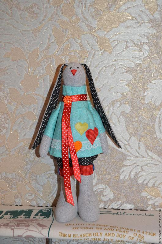 Куклы Тильды ручной работы. Ярмарка Мастеров - ручная работа. Купить Заяц Тильда. Handmade. Тильда, заяц текстильный