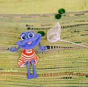 Куклы и игрушки ручной работы. Ярмарка Мастеров - ручная работа Лягушонок. Handmade.