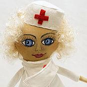 Куклы и игрушки ручной работы. Ярмарка Мастеров - ручная работа Доктор.Врач.Кукла врач.Подарок врачу. Недорогой подарок.. Handmade.