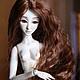 Коллекционные куклы ручной работы. Ярмарка Мастеров - ручная работа. Купить Шарнирная кукла Ассоль (BJD). Handmade. Коричневый, шарнирка