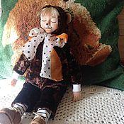 Куклы и игрушки ручной работы. Ярмарка Мастеров - ручная работа Tэдди долл  медвежонок. Handmade.