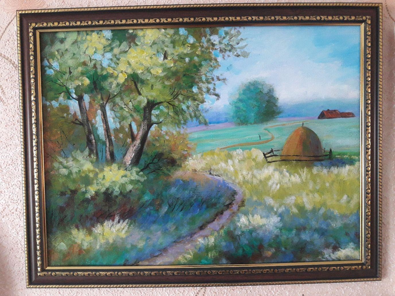 """Картина акрилом """" Июль"""", Картины, Бирюсинск,  Фото №1"""