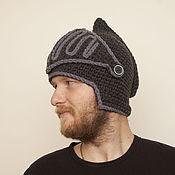 Аксессуары ручной работы. Ярмарка Мастеров - ручная работа шапка шлем средневековый темный. Handmade.