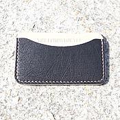 Сумки и аксессуары handmade. Livemaster - original item Image, business card Holder ostrich leather. Handmade.