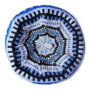 Аксессуары handmade. Livemaster - original item Knitted beret Angora. Handmade.