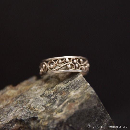 Elegant ring vintage USSR, Vintage ring, Krasnoyarsk,  Фото №1