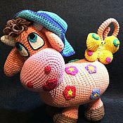 Куклы и игрушки ручной работы. Ярмарка Мастеров - ручная работа Корова Мурёнка. Handmade.