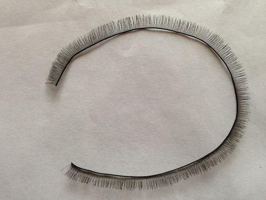 Шитье ручной работы. Ярмарка Мастеров - ручная работа. Купить Реснички 5, 8, 10 мм. Handmade.