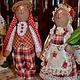 Куклы Тильды ручной работы. Ярмарка Мастеров - ручная работа. Купить Зайцы,,Клетчатая парочка,,. Handmade. Тильда, интерьерная игрушка