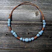 handmade. Livemaster - original item The ceramic beads in the style of