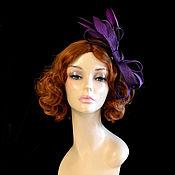 handmade. Livemaster - original item Lilac little hat. Handmade.