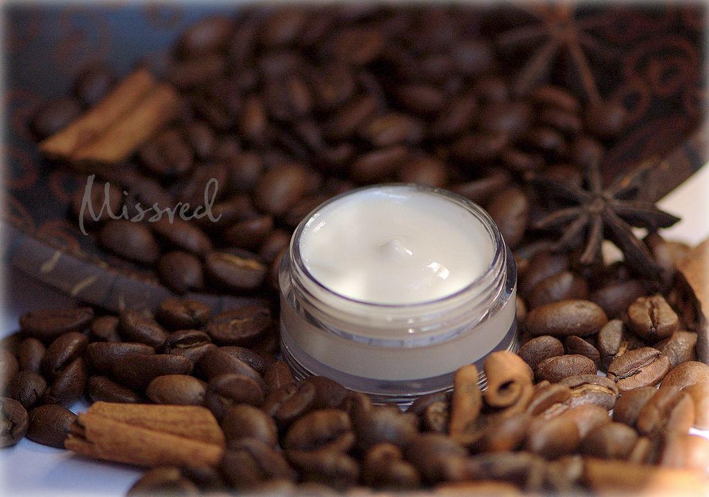 Cream, Gel & Serum handmade. Livemaster - handmade. Buy Day light face cream Coffee Break.White