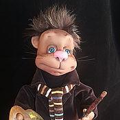Куклы и игрушки ручной работы. Ярмарка Мастеров - ручная работа Кот Художник. Handmade.