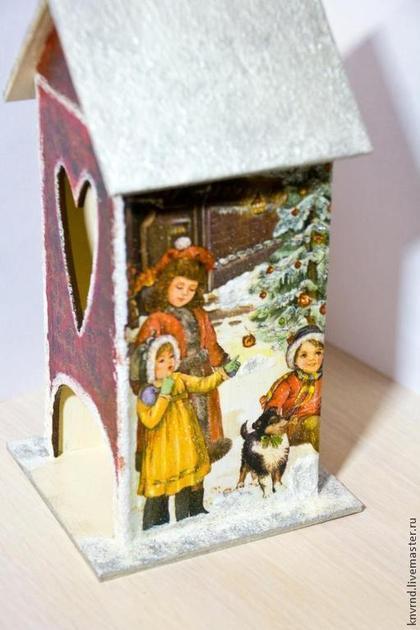 Кухня ручной работы. Ярмарка Мастеров - ручная работа чайный домик Новогодний. Handmade.