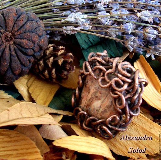 """Кольца ручной работы. Ярмарка Мастеров - ручная работа. Купить Кольцо """" Снова осень..."""" / """" Autumn Over Again"""" -Wire Wrap - 1000 руб.. Handmade."""