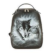 Сумки и аксессуары handmade. Livemaster - original item Leather backpack