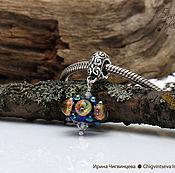 Украшения ручной работы. Ярмарка Мастеров - ручная работа Шторм - 1 подвеска шарм лэмпворк. Handmade.