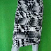 Skirts handmade. Livemaster - original item Skirt black and white. Handmade.