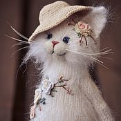Куклы и игрушки handmade. Livemaster - original item embroidered coat white. Handmade.