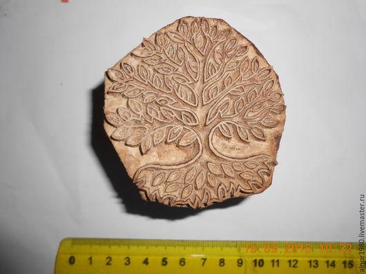 Другие виды рукоделия ручной работы. Ярмарка Мастеров - ручная работа. Купить Штамп для печати на ткани. Handmade. Хобби