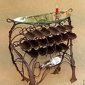 Для дома и интерьера ручной работы. Ярмарка Мастеров - ручная работа Винница напольная кованая. Handmade.