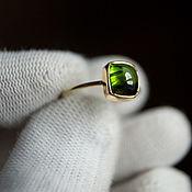 Украшения handmade. Livemaster - original item Ring Two Shades Of Tourmaline. Handmade.