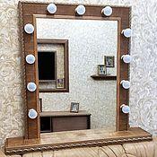 Для дома и интерьера ручной работы. Ярмарка Мастеров - ручная работа гримерное зерколо. Handmade.