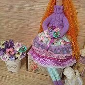 Куклы и игрушки ручной работы. Ярмарка Мастеров - ручная работа Кукла тильда рыжая Дженни. Handmade.