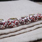 handmade. Livemaster - original item Ceramic bead