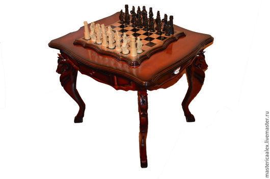 Мебель ручной работы. Ярмарка Мастеров - ручная работа. Купить Шахматный стол ручной работы. Handmade. Нарды ручной работы