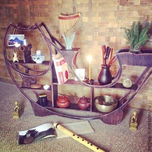 Мебель ручной работы. Ярмарка Мастеров - ручная работа. Купить Полка, чайный алтарь. Handmade. Разноцветный, Алтарь, чайный алтарь