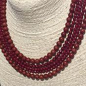 Бусы ручной работы. Ярмарка Мастеров - ручная работа Коралловое ожерелье и серьги. Handmade.