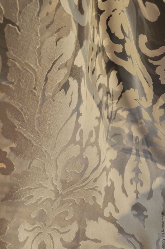 Текстиль, ковры ручной работы. Ярмарка Мастеров - ручная работа. Купить Тюль Италия 1. Handmade. Бежевый, ткани для штор