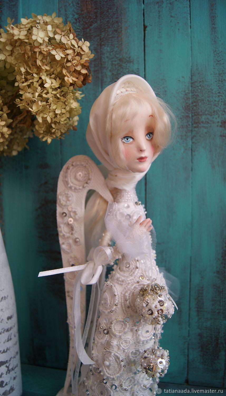 """Коллекционная кукла """"Ангел Зимний"""", Портретная кукла, Камышин,  Фото №1"""