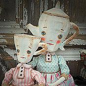 Куклы и игрушки ручной работы. Ярмарка Мастеров - ручная работа Семейный сервиз. Handmade.