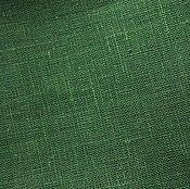 Материалы для творчества ручной работы. Ярмарка Мастеров - ручная работа Лён 100%. Темный травяной. Handmade.