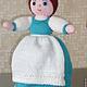 """Сказочные персонажи ручной работы. Кукла-перевертыш """"Золушка"""". Наташа Федотова. Ярмарка Мастеров. Сувенир, вязаная кукла, перевертыш, бусинки"""