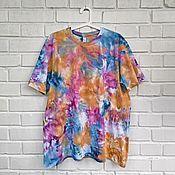 Одежда handmade. Livemaster - original item Tie-dye style T-shirt. Handmade.