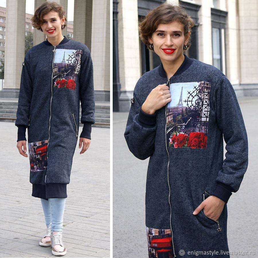 Women's coat Paris, Fur lined coat, exclusive coat, oversize coat, Coats, Novosibirsk,  Фото №1