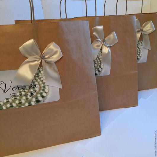 Подарочная упаковка ручной работы. Ярмарка Мастеров - ручная работа. Купить Пакет ручной работы. Handmade. Женская одежда
