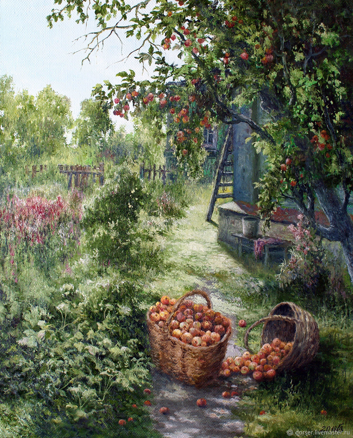 Painting-Apple Spas, Pictures, Moscow,  Фото №1