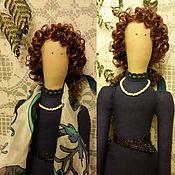 Куклы и игрушки ручной работы. Ярмарка Мастеров - ручная работа Фея портретная в стиле Тильда. Handmade.