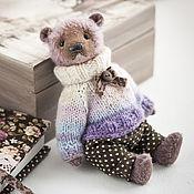 Куклы и игрушки ручной работы. Ярмарка Мастеров - ручная работа Шоколад. Мишка тедди 18см. Мохер. Handmade.
