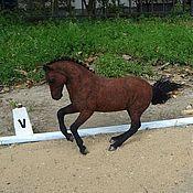 Куклы и игрушки handmade. Livemaster - original item Felt the horse`s photo(the horse