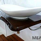 Для дома и интерьера handmade. Livemaster - original item Table top in the bathroom