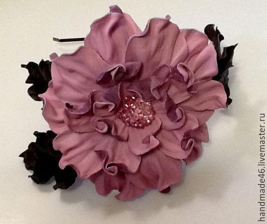 Диадемы, обручи ручной работы. Ярмарка Мастеров - ручная работа. Купить Ободок для волос. Handmade. Розовый, ободок для волос
