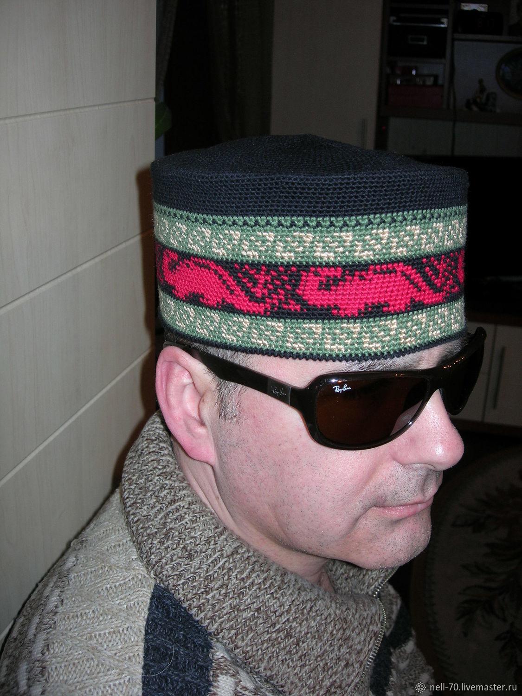 Summer hat 'Dinosauria - 1' (dinosaur-1), Caps, Moscow,  Фото №1